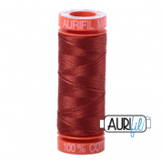 Aurifil 50 Cotton Thread - 2385 (Terracotta)
